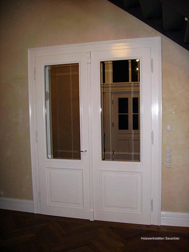 Zweiflügelige tür  Historische Türen - Holzwerkstätten Sauerbier